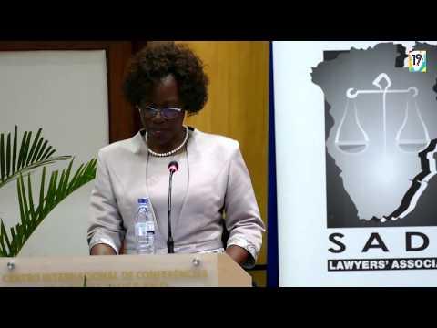 Discurso da Governadora da Cidade de Maputo Iolanda Cintura