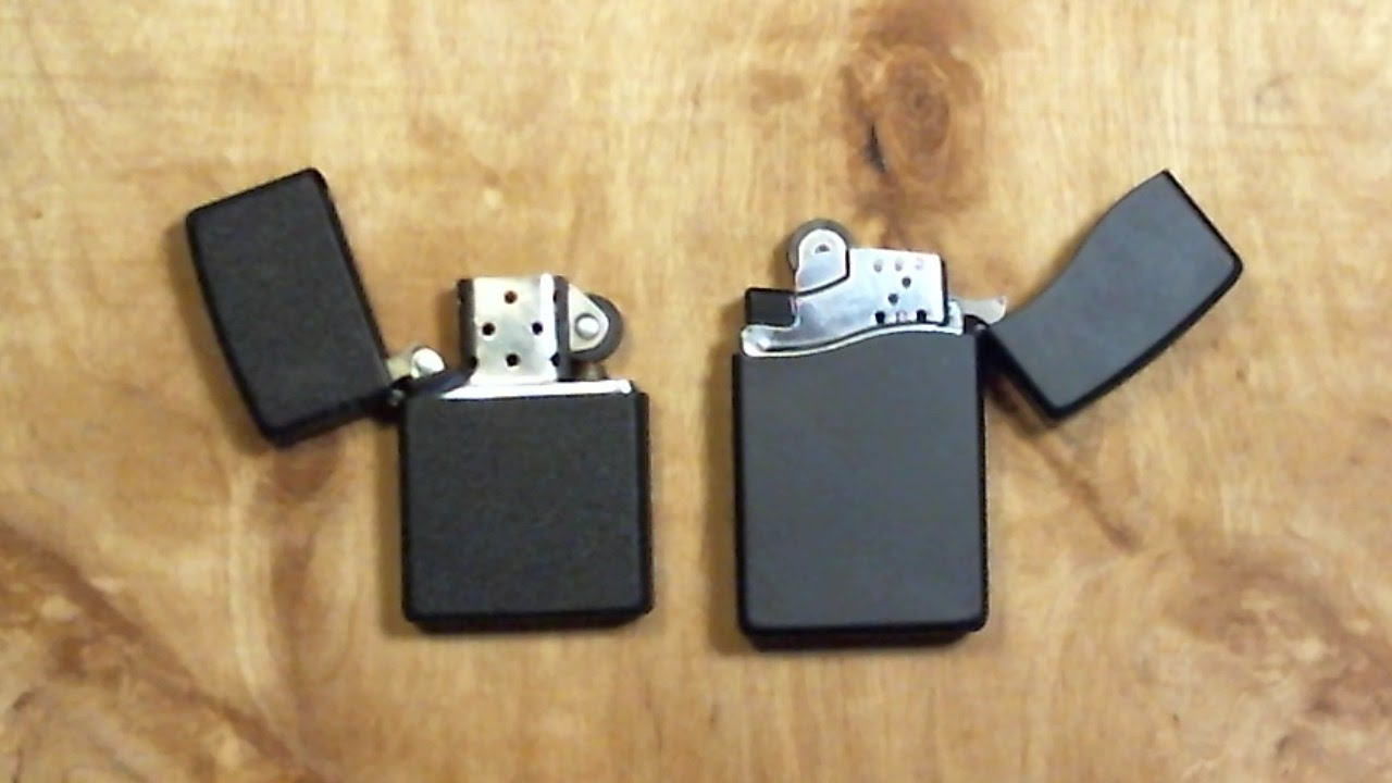 CLASSIC ZIPPO and ZIPPO BLU2 BUTANE lighters - YouTube