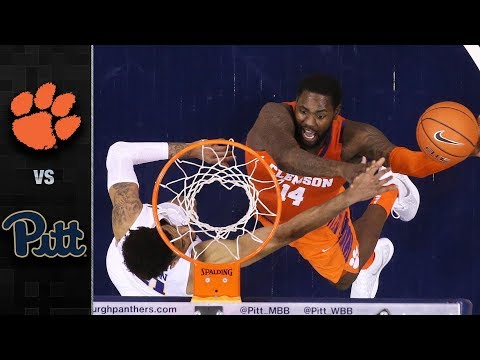 Clemson vs. Pittsburgh Basketball Highlights (2018-19)