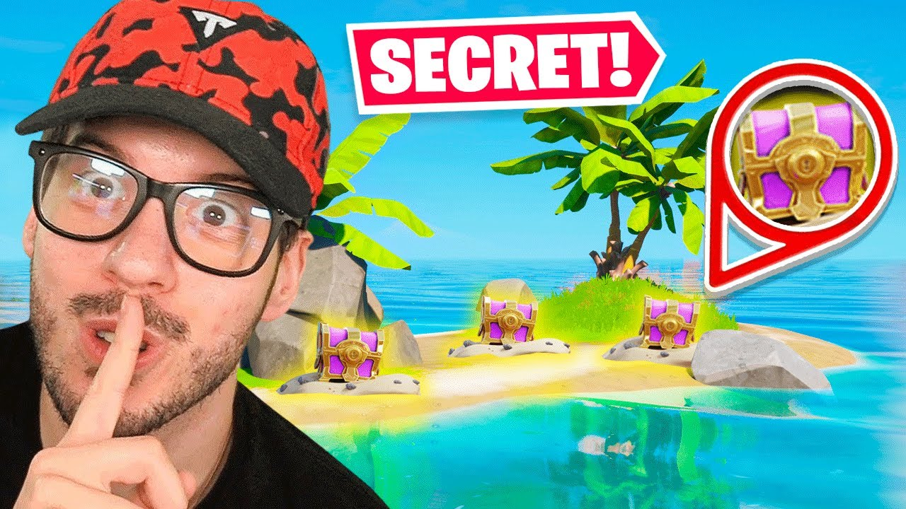 The *SECRET ISLAND* LOOT Challenge in Fortnite!