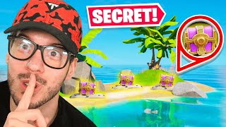 SECRET ISLAND *ONLY* Challenge in Fortnite!