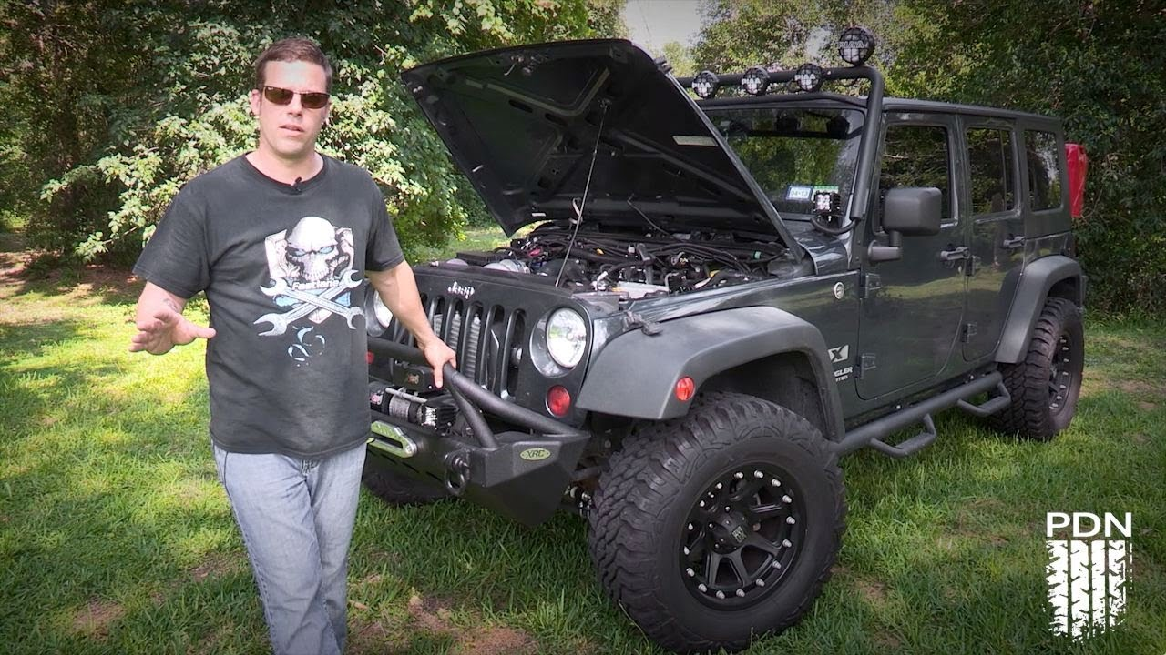 jeep wrangler with a ripp supercharger - youtube