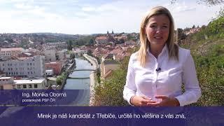 Ing. Monika Oborná, poslankyně PSP ČR- Volby do Senátu za Třebíčsko 2018