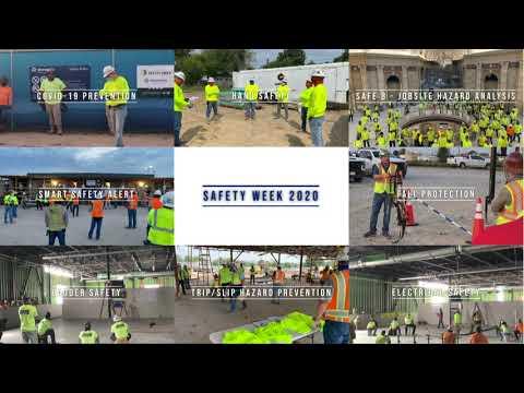Safety Week 2020 Recap Slideshow - Manhattan Construction Group