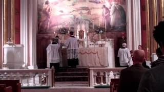 Excerpts of Sung Mass at St Paul