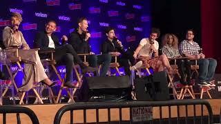 Comic Con NYC Oct 5th 2018 Netflix The Umbrella Academy Panel