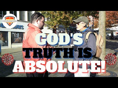 UK Street Preaching: City Centre, Swansea, Wales — God's Truth is Absolute!