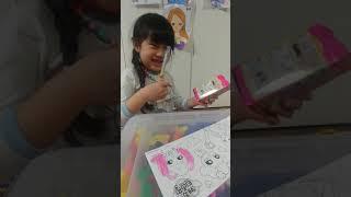 캐치티니핑 롤스티커 색칠놀이 1탄(지영티비♥)지영이티비…