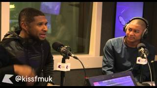 Usher lands on KISS Breakfast! | KISS FM UK