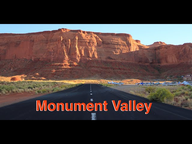 Landing at Monument Valley Airport and Flying the Grand Canyon