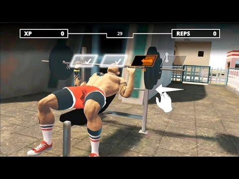 Про качиваем перса в битве бодибилдинга! Iron Muscle - Be The Champion игра бодибилдинга