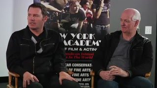 Discussion with Colin Mochrie and Brad Sherwood at New York Film Academy