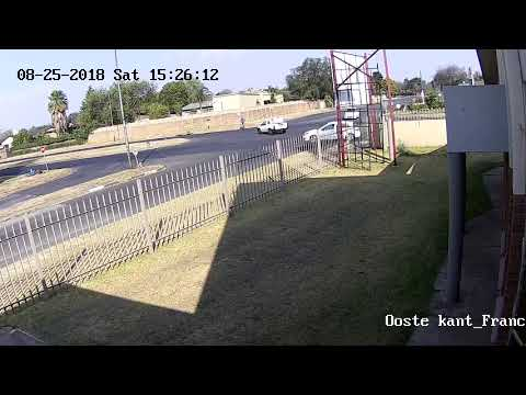 Hit and Run in Germiston South Africa 2018-08-25 car accident (crime south africa)