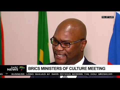 Outcomes of the BRICS Minister of Culture meeting: Nathi Mthethwa