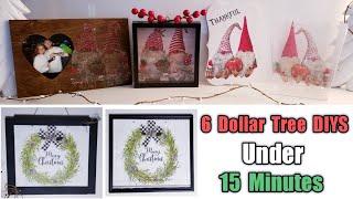 6 Dollar Tree DIYS Under 15 Minutes ~ Simple & Cute Decor~