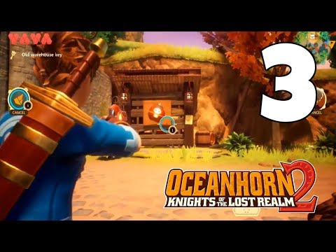 OCEANHORN 2 - APPLE ARCADE Walkthrough Gameplay #3 | GETTING HOVERBIKE TAURUS-1