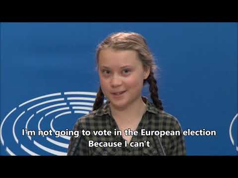 Greta Thunberg - EU elections 2019