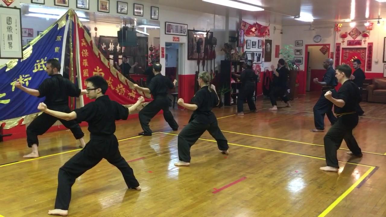 Bo Law Kung Fu Training