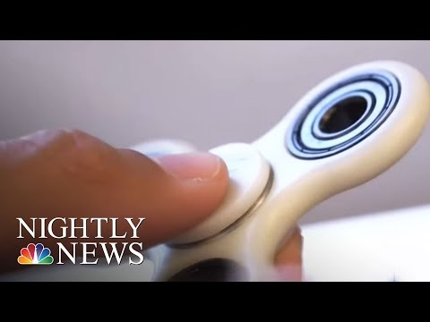 Fidget Spinners: The Newest Toy To Twirl Into Americans' Lives | NBC Nightly News thumbnail
