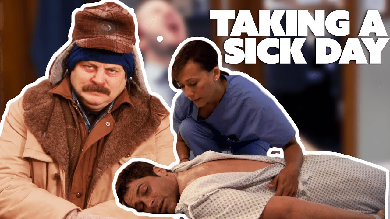 Download parks and recreation but you have a cold | Comedy Bites