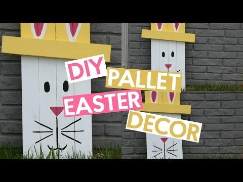 DIY Pallet Easter Decor