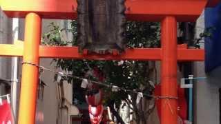 桜稲荷神社---東京都台東区