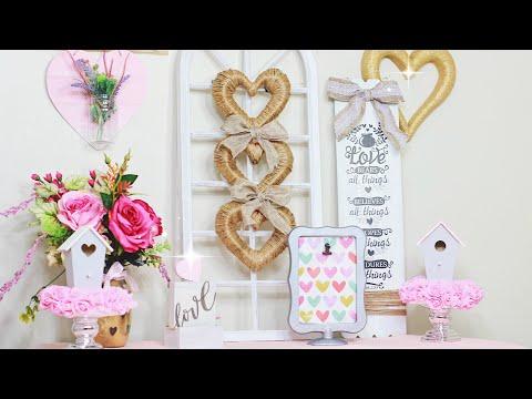 DOLLAR TREE DIY VALENTINES DECOR IDEAS 2019! Easy Dollar Store Crafts | Sensational Finds