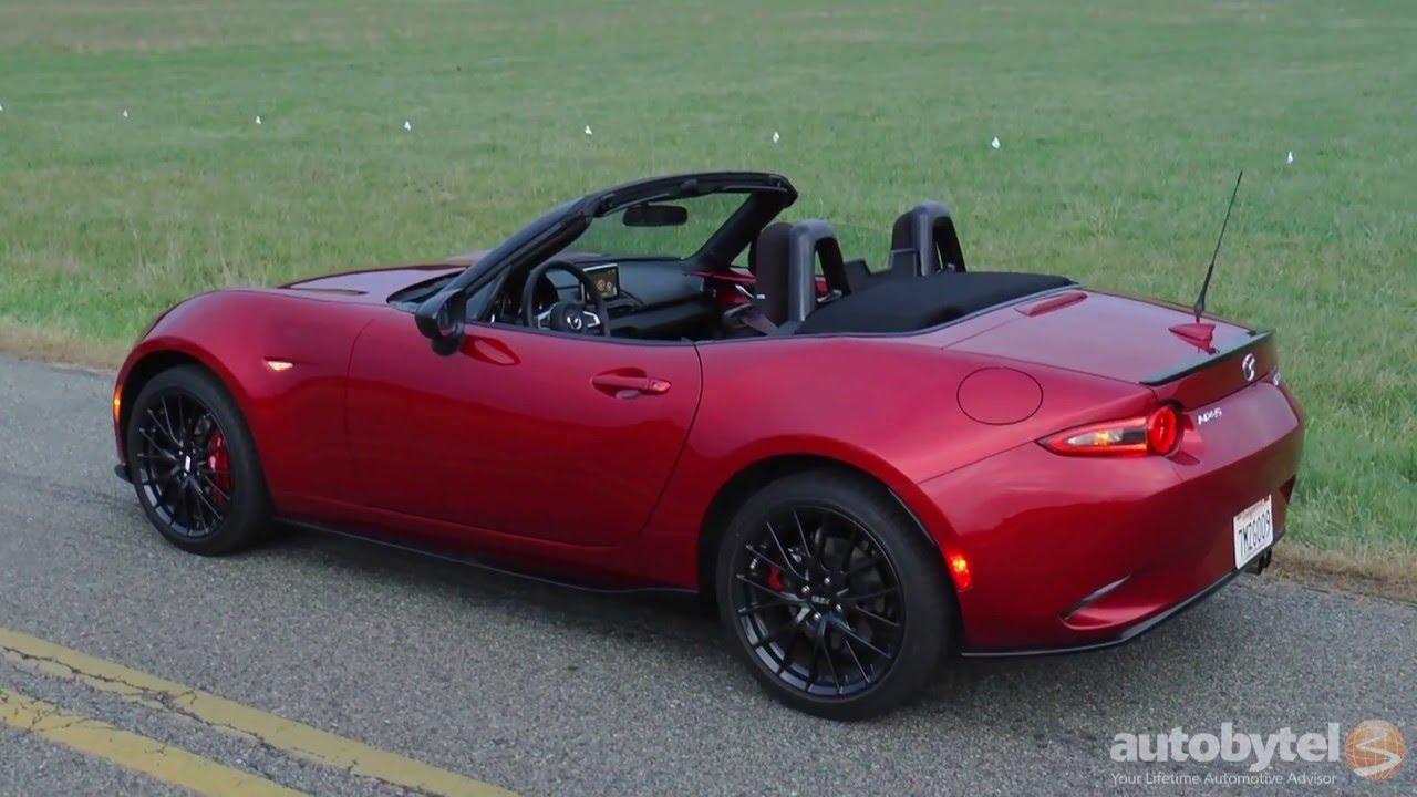 2016 Mazda Mx 5 Miata Club Test Drive Video Review 4th Generation Convertible You
