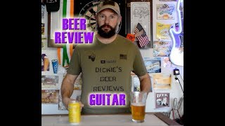 Charles Wells Brewing - Dry Hopped Lager Beer Review - Guitar Cover - Eagles - Peaceful easy feeling