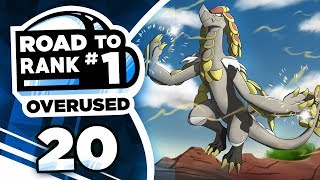 Pokemon Showdown Road to Rank 1: Pokemon Ultra Sun & Moon OU w/ PokeaimMD #20