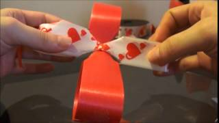 Repeat youtube video Tutorial como hacer moños pom pom - How to make a puffy bow