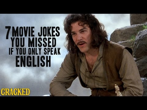 7 Movie Jokes You Missed If You Only Speak English