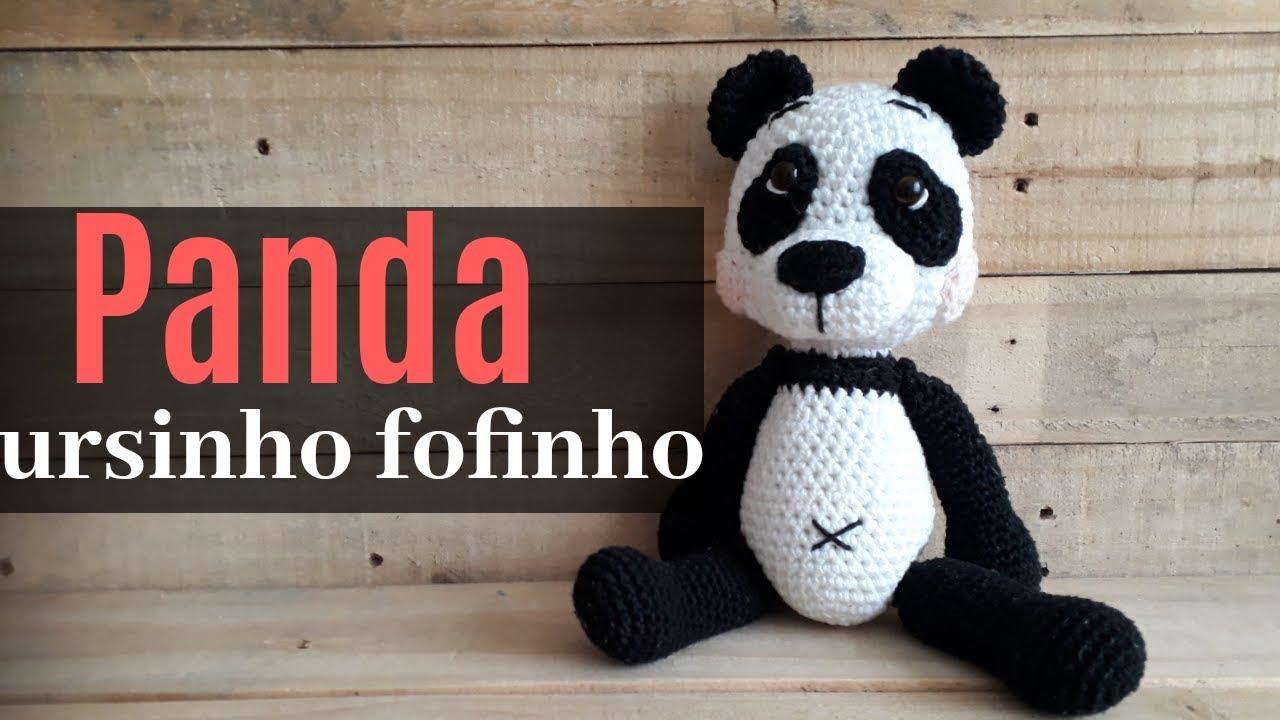 Kit Amigurumi - 03 - Panda - Total Bojos | 720x1280