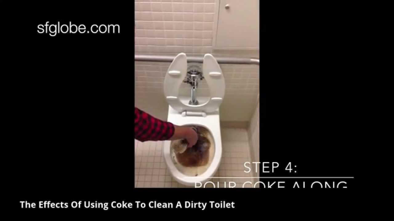 Scintillating Clean Toilet With Coke Video Contemporary - Best ...