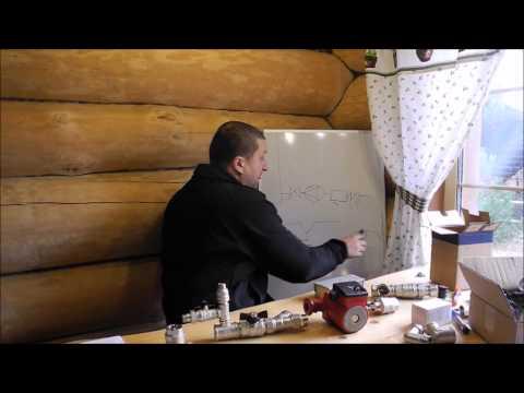 Схемы водяного отопления частного дома своими руками и некоторые нюансы проектирования