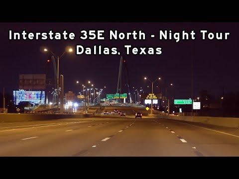 2018/11/13 - Interstate 35E Dallas Night Tour