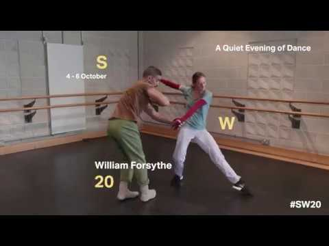 William Forsythe - A Quiet Evening of Dance - Rehearsal Trailer
