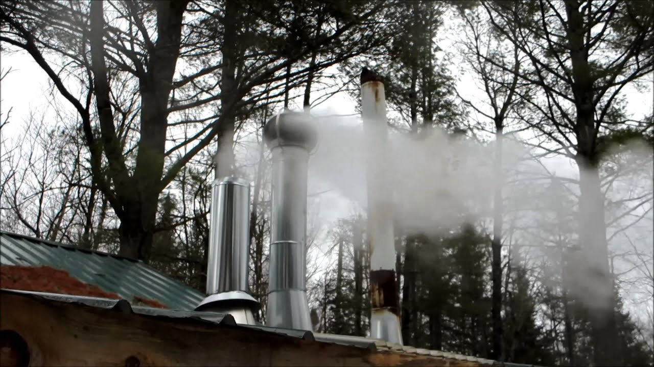 maple syrup production at the west sumner sugar house youtube