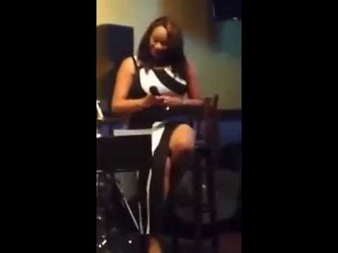 "Tyesha Williams performing ""Speechless"" by Beyonce & ""Love & War"" by Tamar Braxton"
