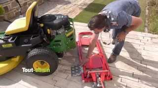 Bradley MJ4000 Cliplift Magnum Mower Jack