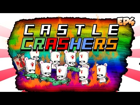 Castle Crashers Remastered - Hardest Boss In The Game?! 3 Chicks And A Dude Ep3
