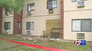 Police: Driver who crashed into apartment may have had medical issue