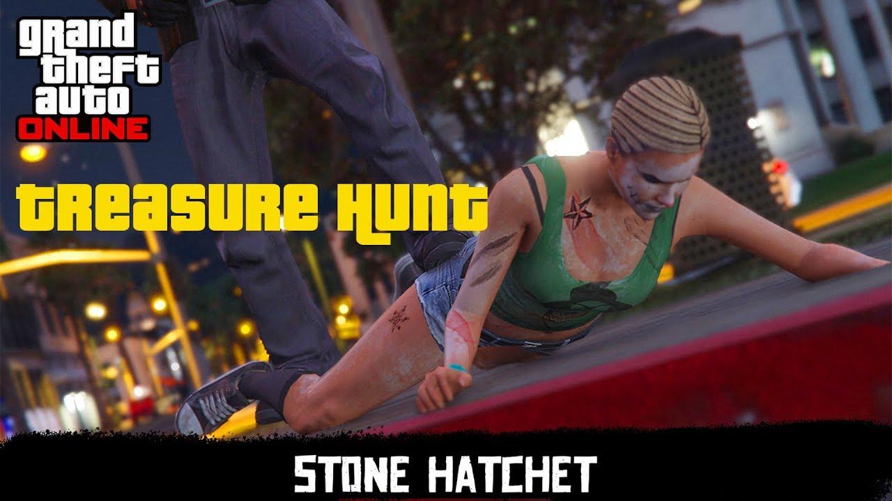 GTA 5 - Stone Hatchet and Easy 300,000