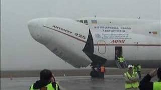An-225 Mriya at Budapest