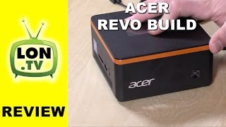Acer Revo Build Review - $179 Upgradeable Windows Mini PC - Gaming / Kodi / Office and more