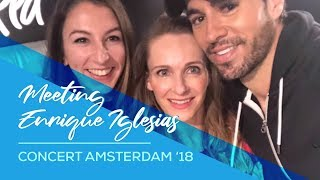 Meeting Enrique Iglesias & concert Amsterdam 2018 - Vlog video dance