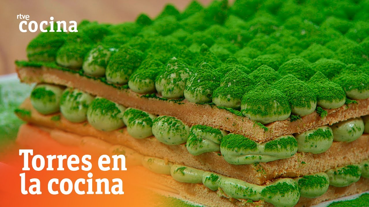 Tiramis de t verde torres en la cocina rtve cocina for Torres en la cocina youtube