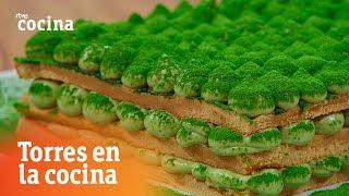 Tiramisú de té verde - Torres en la Cocina | RTVE Cocina