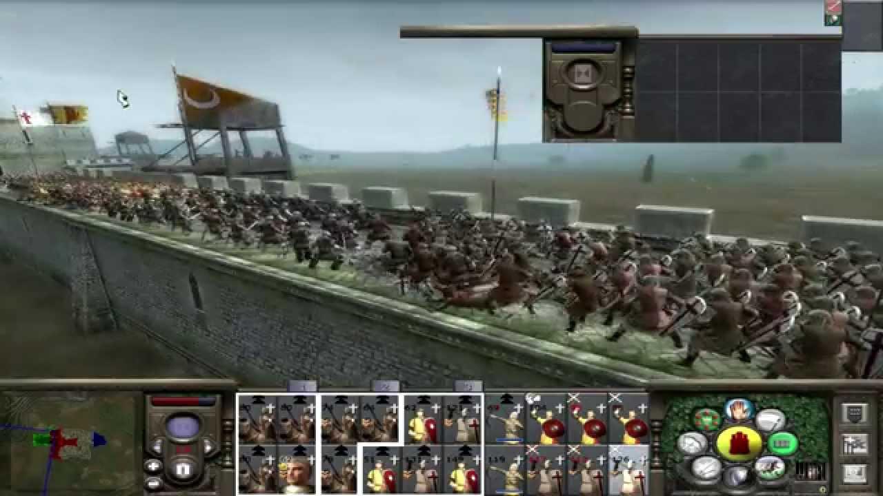 LETS PLAY Medieval 2 Total war Darthmod 1 4d PART 2