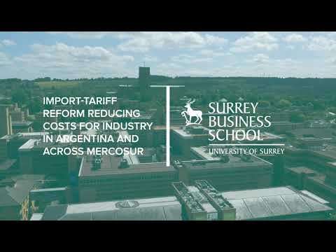 Play video: SBS Research Case Study | Import-tariff reform reduces costs for industry in Argentina and MERCOSUR